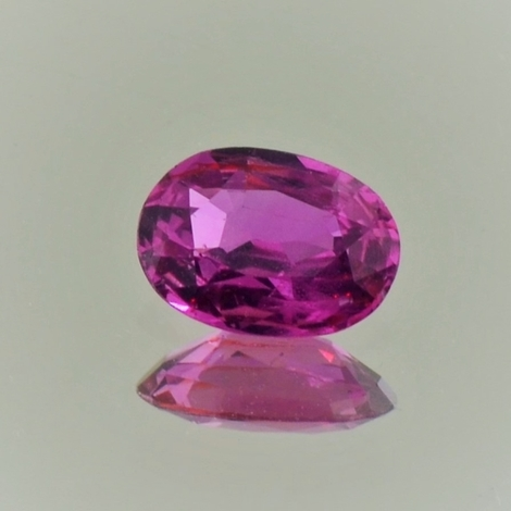 Ruby oval unheated 1.22 ct