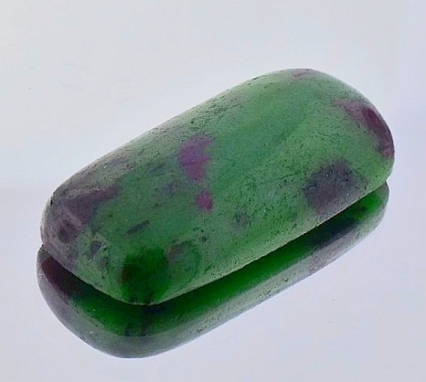 Ruby-Zoisite cushion 66.97 ct