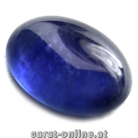 Sapphire Cabo oval blue 2.08 ct