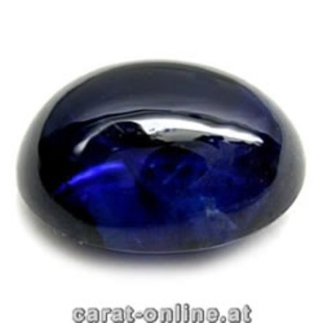 Sapphire Cabo oval blue 5.14 ct
