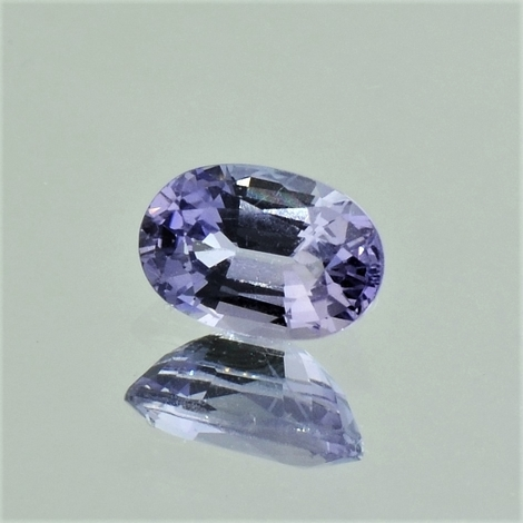 Sapphire oval bluish-lilac unheated 1.31 ct