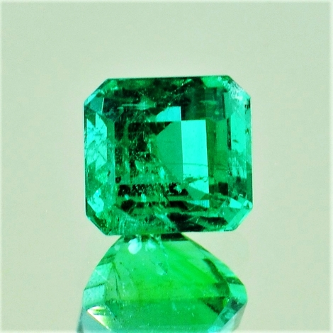 Emerald octagon 2.42 ct