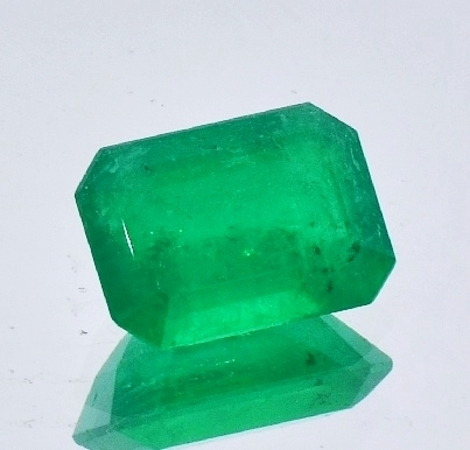 Emerald Octagon untreated 7.23 ct