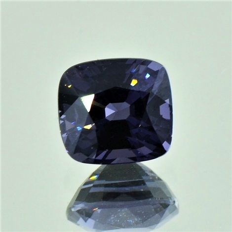 Spinell antik blaugrau 2,37 ct