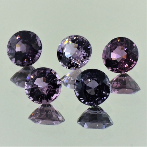 Spinel Lot round 4.63 ct