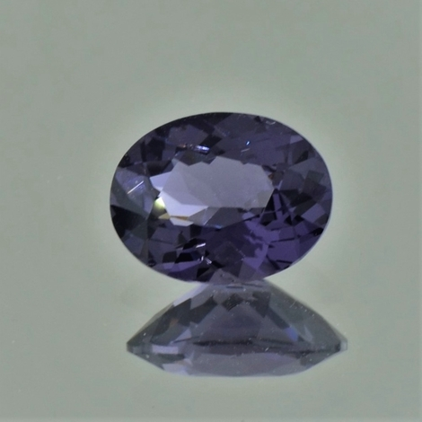 Spinell oval grauviolett 1,98 ct