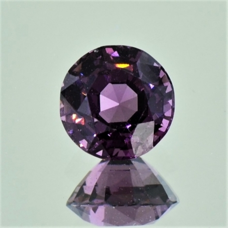 Spinell rund purpur 2,13 ct