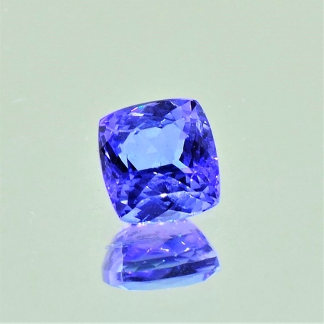 Tanzanite cushion 1.46 ct