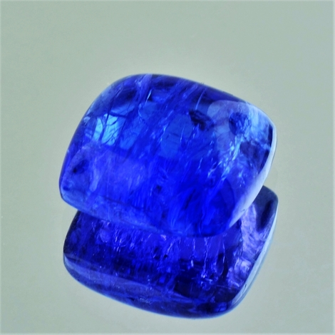 Tanzanite cabochon cushion 19.01 ct