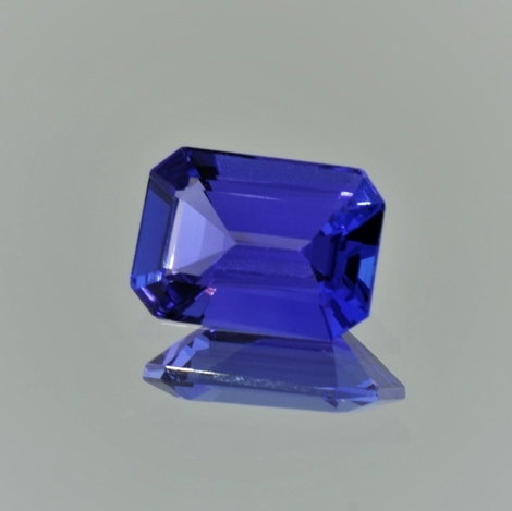 Tanzanite octagon blue 3.23 ct