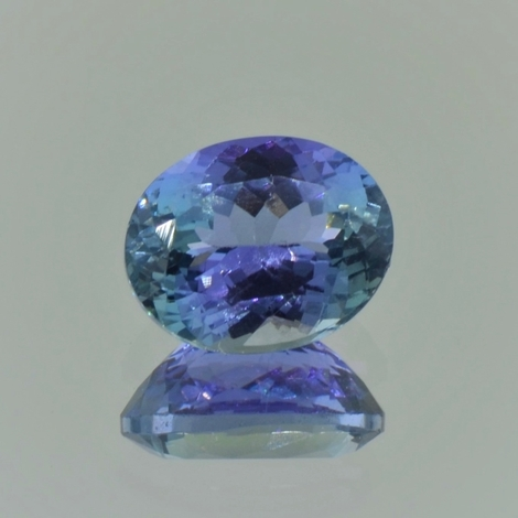 Tanzanite oval unheated 3.13 ct