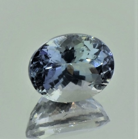 Tanzanite oval unheated 3.46 ct.