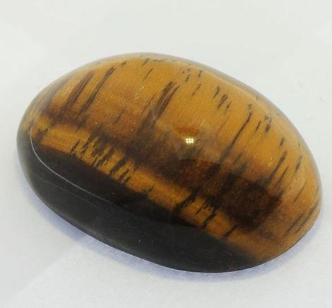 Tigerauge, Oval Cabochon (96,20 ct.) aus Namibia