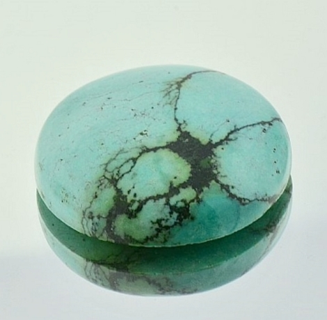 Turquoise Cabochon round 34.64 ct