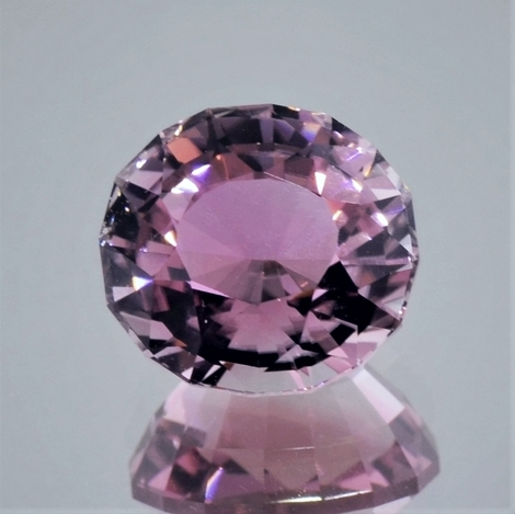 Tourmaline oval light pink 7.57 ct