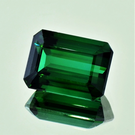 Green Tourmaline Tourmaline octagon 10.13 ct