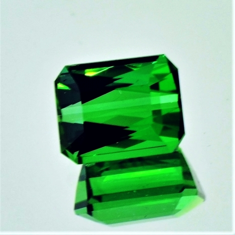 Green Tourmaline Tourmaline octagon 3.04 ct