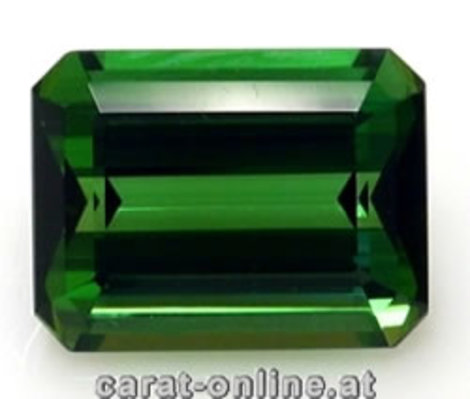 Green Tourmaline Tourmaline Octagon 31.18 ct