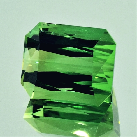 Green Tourmaline Tourmaline octagon green 22.91 ct